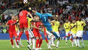 کلمبیا (۳) ۱-۱ (۴) انگلیس