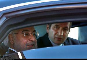 عکس/ خودروی تشریفات روحانی در اتریش