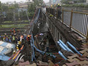 ریزش پل در هند