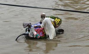 عکس/ سیلاب در پاکستان
