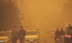 شدت گرد و غبار در فهرج 40 برابر حد مجاز