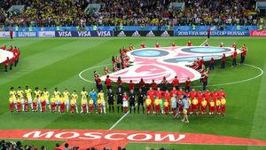 عکاس محجبه در جام جهانی روسیه +عکس