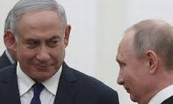 دیپلماسی فوتبال با حضور نتانیاهو در مسکو