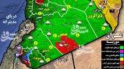 آخرین تحولات میدانی جنوب سوریه + نقشه میدانی