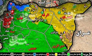 جنوب استان حسکه پس از یک ماه درگیری سنگین به کنترل شبه نظامیان کُرد درآمد + نقشه میدانی