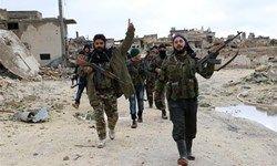 توافق گروهای مسلح در سوریه برای تحویل سلاح سنگین خود