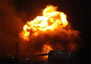 فیلم/ انفجار وحشتناک در پمپ گاز