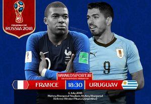 فرانسه و اروگوئه