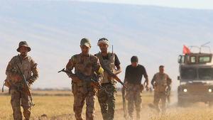 حملات سنگین ترویستهای داعش در مناطق مرزی مشترک عراق و سوریه + نقشه میدانی و عکس