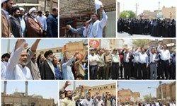 خرمشهریها اغتشاشات اخیر را محکوم کردند +عکس