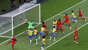 فیلم/ خلاصه دیدار برزیل ۱-۲ بلژیک