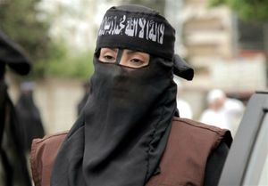 زن داعشی