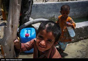 عکس/ بحران آب شرب در چابهار