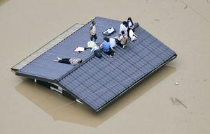 عکس/ کشته و مفقود شدن ۵۶ نفر در ژاپن