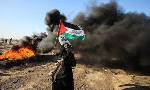 عکس/ ادامه تظاهرات بزرگ بازگشت در نوار غزه