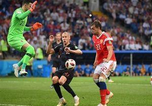 آمار دیدار کرواسی و روسیه در یک چهارم نهایی
