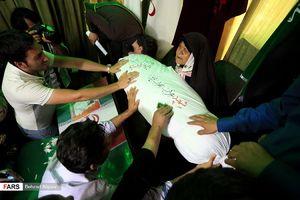 """عکس/""""محراب"""" بعد از 32 سال به آغوش مادر بازگشت"""