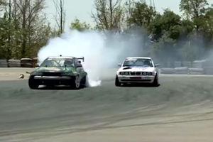 فیلم/ رقابتی خاص با خودروهای خاص!