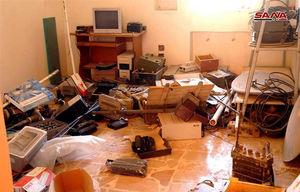 عکس/ کشف تسلیحات تروریستها در گذرگاه نصیب