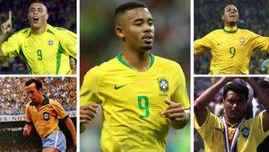 سیر نزولی شماره ۹های برزیل در جامهای جهانی