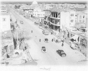 عکس/ خیابان حافظ؛ 60سال قبل