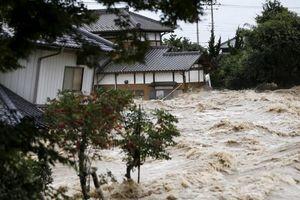 تلفات سیل در ژاپن از ۷۰ نفر فراتر رفت