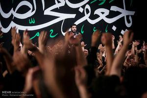 عکس/ عزاداری شهادت امام صادق (ع) در ریحانة الحسین