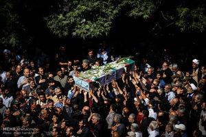 "عکس/ تشییع پیکر شهید ""سهرابلویی"""