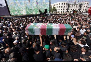 عکس/ تشییع پیکر 2 شهید دفاع مقدس در مشهد