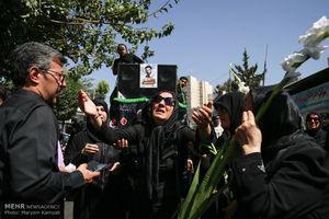 """عکس/ تشییع پیکر شهید """"محمد عزیزی"""""""