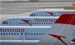 ادامه پرواز شرکت هواپیمایی اتریش به تهران