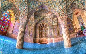 معماری حیرت انگیز مسجد نصیر الملک شیراز
