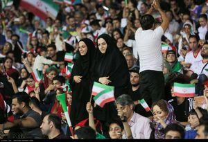 پخش بازیهای نیمهنهایی جام جهانی در ورزشگاه آزادی