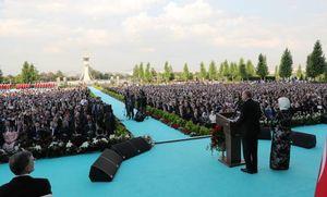 عکس/ حضور شریعتمداری در مراسم تحلیف اردوغان