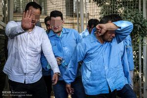 عکس/ بازداشت موادفروشان تهرانی