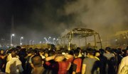 انفجار مرگبار تانکر سوخت در سنندج +عکس و فیلم