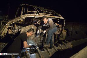 انفجار مرگبار تانکر سوخت در سنندج