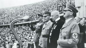 فیلم/ واکنش هیتلر به باخت بلژیک مقابل فرانسه!