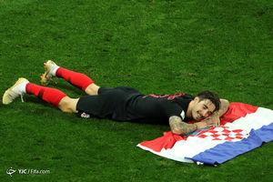 عکس/حواشی آخرین بازی نیمه نهایی جام جهانی