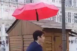 فیلم/ چتر پهپادی هم به بازار آمد!