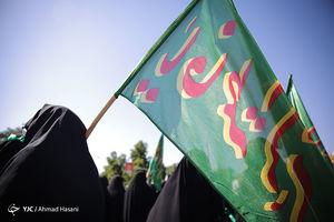 عکس/ راهپیمایی بانوان مشهد در روز عفاف و حجاب