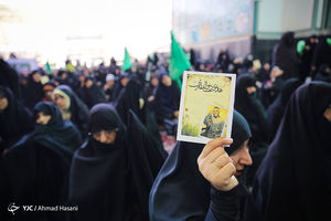 فیلم/ تجمع حامیان حجاب در دانشگاه تهران