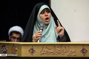 فیلم/ شعرخوانی حماسی خواهر مسیح علینژاد