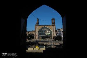 عکس/ مسجد جامع ساری پس از مهار آتش
