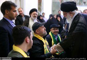 فیلم/ سخنان پدر یکی از شهدای حزبالله خطاب به رهبر انقلاب,