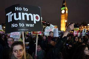 فیلم/ تنفر انگلیسی ها از ترامپ!