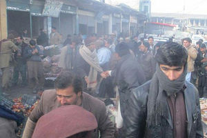 فیلم/ لحظه انفجار عامل انتحاری در کابل!
