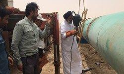 ماجرای جوشکاری یک امام جمعه در خط لوله آب خرمشهر +فیلم
