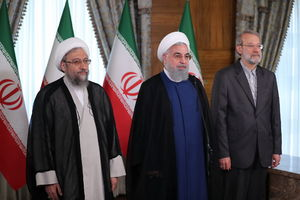 فیلم/روحانی: با اتحاد از مشکلات عبور می کنیم