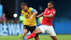عکس/ بهترین بازیکن دیدار بلژیک و انگلیس